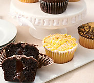 Palermos Bakery (12) 3.75 oz. Stuffed Cupcakes - M52359