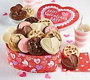 Cheryls Valentines Day Heart Gift Tin - 18 Cookies - M116760
