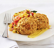 Great Gourmet (10) 4 oz Traditional or Coconut Crab Cakes - M45260