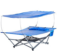 Bliss Hammocks 2-Person Stow EZ Hammock with Canopy - M45760