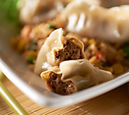 The Perfect Gourmet (35) Buffalo Chicken BBQ Pork or Veg Potstickers - M47360