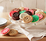 Cheryls 30-pc Holiday Cookies Plus (12) Frosted Cutouts - M50060