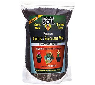 Wonder Soil 3lb Bag Cactus and Succulent Expanding Soil Mixture