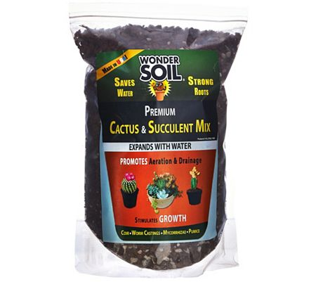 Wonder Soil 3lb Bag Cactus and Succulent Expanding Soil Mixture