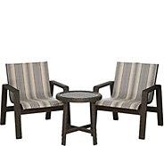 Scott Living 3-piece Buenos Aires Wicker Patio Seating Set - M52060