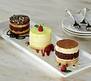 Palermos Bakery (12) 3.75 oz. Mini Cake Sampler - M52360