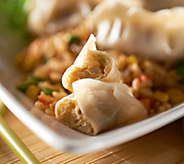 The Perfect Gourmet (70) Buffalo Chicken BBQ Pork or Veg Potstickers - M47361