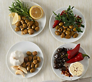 OLOVES (20) 1.1 oz. Marinated Olive Snack Pack Assortment - M47761