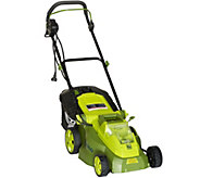 Sun Joe iON 15 Lawn Mower With 40-Volt Rechargebale Battery - M48161