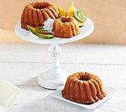 Lighthouse Rum Cakes (1) 5 oz. and (2) 16 oz. Rum Cakes - M51761