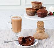 White Toque (10) 3.32-oz Chocolate Lava Cakes - M56361