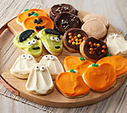 Cheryls 24-Piece Halloween Frosted Cookie Auto-Delivery - M56561