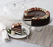Ships 12/4 Juniors 4.5lb Chocolate Dream Holiday Layercake - M56761