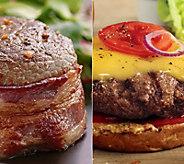 Kansas City (16) 5-oz Sirloin Steaks & (16) 4-oz Steakburgers - M112862
