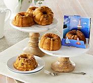 Lighthouse Rum Cakes (6) 5oz Coconut or Original Mini Rum Cakes - M51762