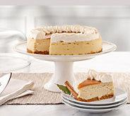Juniors 3.25 lb Dulce de Leche Caramel Cheesecake - M56262