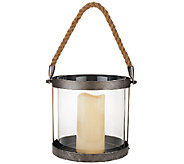 Scott Living 8 Battery Operated Rustic Hanging Lantern - M46563