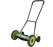Sun Joe 16 Easy Push Reel Mower with 4 Wheels - M52463