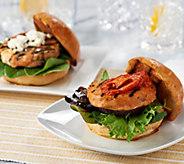 Graham & Rollins (14) 3.5 oz. Gourmet Salmon Burgers - M53863
