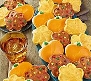 Cheryls 24-Piece Pumpkin and Leaf ButtercreamFrosted Cutouts - M116664