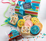 Cheryls 10-Piece Birthday Cookie and Brownie Duo Delight - M116764