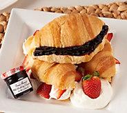 Authentic Gourmet_(30) Croissants w/ (30) Jars Bonne Maman Preserves - M49664