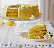 Sweet Endings 4 lbs. 12 oz. Sweet Meyer Lemon Layer Cake - M50464
