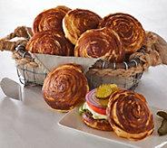 Bobby Chez (32) 3 oz. Croissant Pretzel Buns - M50964