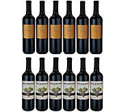 Vintage Wine Estates Best of California 12 Bottle Wine Set Auto-Delivery - M54864