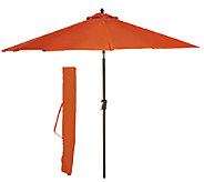 ATLeisure 9 EZ-Tilt Patio Umbrella with 2 Canopies & Removable Cover - M45565