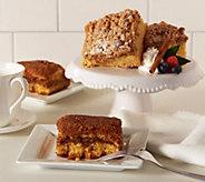 Sweet Sams (2) 18 oz. Classic Crumb & Streusel Coffee Cakes - M51765