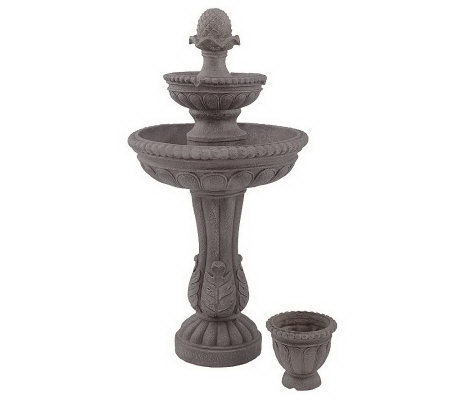Bernini Rechargeable 3-Tier Custom Fountain with Timer