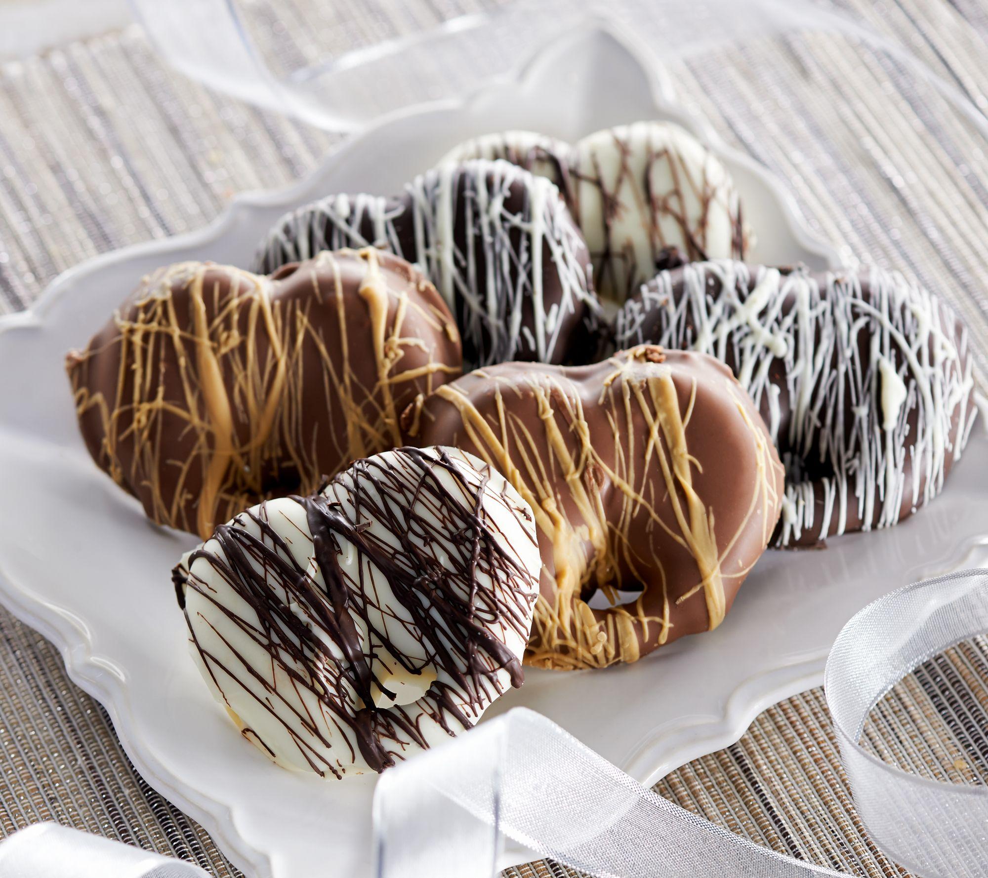Landies Candies 24 Piece Chocolate Pretzel Collection
