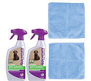 Rejuvenate 24oz Carpet/Upholstery Cleaners & Microfiber Cloths - M114967