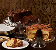 My Grandmas (2) 28 oz. Choc. Coconut & Cinnamon Walnut Coffee Cakes - M29167