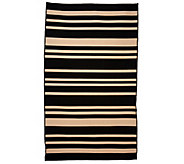 Barbara King Indoor/Outdoor 4-10 x 8 Awning Stripe Cabana Rug - M46367