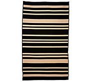 Barbara King Indoor/Outdoor 4-10 x 8 Awning Stripe Cabana Rug - M46367