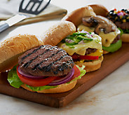 Bubbas Q (24) 5 oz. Beef Brisket Burgers - M47667