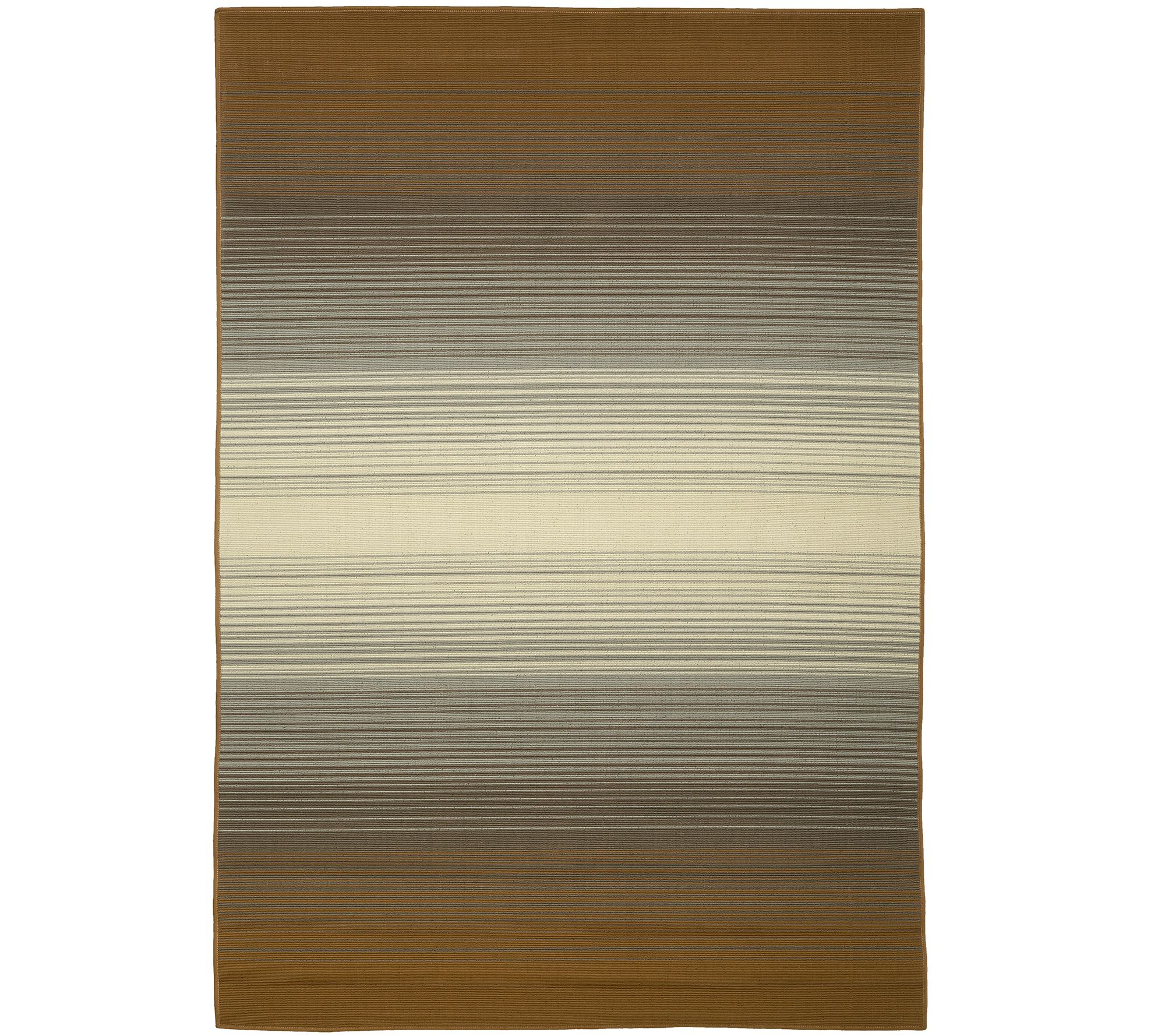 Scott Living 5x7 Kittery Ombre IndoorOutdoor Rug Page 1 QVCcom