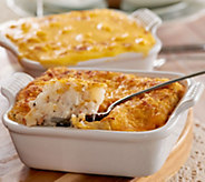 St. Clair 2lb Mac & Cheese Casserole w/ 2 lb Baked Potato Side - M115768