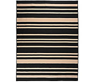 Barbara King Indoor/Outdoor 7x10 Awning Stripe Cabana Rug - M46368