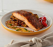 Anderson Seafoods (8) 6 oz. Fresh Atlantic Seasoned Salmon - M47568