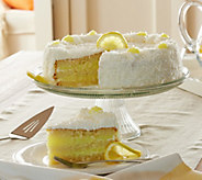 Ships 4/3 Juniors 5 lb. Lemon Coconut Layer Cake - M54268