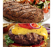 Kansas City (8) 5oz Top Sirloin Steaks & (8)4ozSteak Burgers - M113469