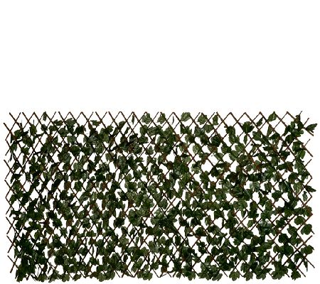 Compass Home Expandable Faux Ivy Privacy Fence