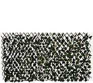 Compass Home Expandable Faux Ivy Privacy Fence - M44069
