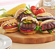 Kansas City 6.1 lb Combo of Steakburgers, Sandwich Steaks & Hotdogs - M51169