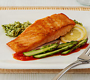 Egg Harbor (8) 6 oz. Faroe Island Salmon Filets Auto-Delivery - M50870