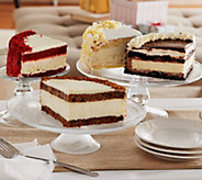 Juniors 6lb. Layer Cake and Cheesecake Sampler Auto-Delivery - M51570