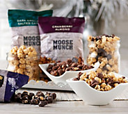 SH 12/4 Harry & David (14) 8 oz. Bags Moose Munch Gourmet Popcorn - M55170